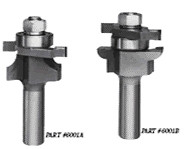 Whiteside 5740AG - Miniature, Stile & Rail, Router Bits - Half Inch Shank (Replacement Stile Groover), Carbide Tipped