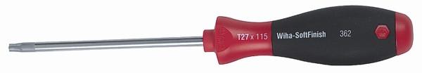 Wiha 36264 Torx Screwdriver with SoftFinish Handle T5 x 60mm