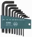 Wiha 36393 - Tamper Resistant L-Key 9Pc Set
