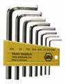 "Wiha 35192 - L-Key Hex Nickel Short-Arm 8 Pc Set 5/64-5/16"""