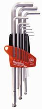 Wiha 66990 - MagicRing Ball End Hex L-Key 9 Pc Metric Set 1.5-10.0mm