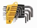 "Wiha 35194 - L-Key Hex Nickel Short-Arm 13 Pc Set .050 - 3/8"""