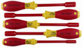 Wiha 32292 - Insulated Nut Driver 5 Pc Inch Set 7/32-1/2