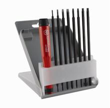 Wiha 62993 - Proturn Interchangeable Precision Slotted/Phillips/Torx Screwdriver 9 Pc Set