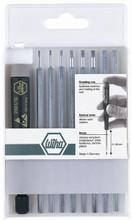 Wiha 26989 - System 4 ESD Safe Hex Inch 9 Pc Set .050-5/32