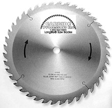 World's Best Glue Joint Rip Saw Blade by Carbide Processors - World's Best 37212