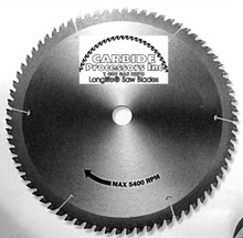 World's Best Thin Kerf Saw Blade by Carbide Processors - World's Best 37444