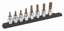 Wiha 76396 - 3/8 Drive 8 Pc Torx Set T20-T55