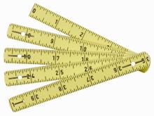 "Wiha 61601 - MaxiFlex Folding Inch / Metric Ruler 39"" / 1m"