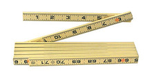 Wiha 61609 - MaxiFlex Folding Ruler 6 Ft Inside Read