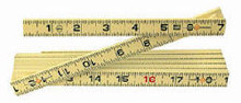 Wiha 61619 - MaxiFlex Folding Ruler 6 Ft Outside Read