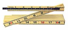 "Wiha 61620 - MaxiFlex Folding Ruler 6 Ft Outside Read With 6"" Sliding Depth Gage"