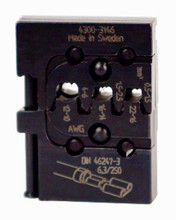 Wiha 43146 - PortaCrimp Open Barrel, Non-Insulated Standard Commercial Terminals & Lugs 22-10 AWG