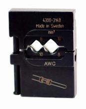 Wiha 43148 - PortaCrimp Power Contacts 10-8 AWG