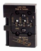 Wiha 43150 - PortaCrimp Open Barrel Non-Insulated Push On Terminals 26-18 AWG