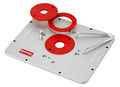 Woodpeckers A1690890 - Aluminum Router Mounting Plate for Porter Cable, Makita, Bosch, Dewalt