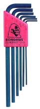 Bondhus 12146 - Set of 6 Hex L-keys 1.5-5mm - Long