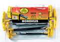 Bondhus 13138 - Set of 10 Ball End Hex & Hex T-Handles 3/32-3/8