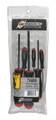 Bondhus 74686 - Set of 6 ProHold Ball End Hex Screwdrivers 1.5-5mm