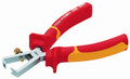 "Felo 50867 - Comfort Grip Insulated Insulation Stripping Pliers 6-5/16"" long"