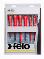 Felo 51401 - 7 pc Phillips & Slotted Insulated Screwdriver Set