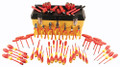 Wiha 32876 - 66 Pc Insulated Pliers/ Cutters/ Drivers Tool Set