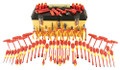 Wiha 32877 - 80 Pc Maximus Insulated Pliers/ Cutters/ Sockets/ Drivers Tool Set