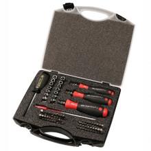 Wiha 28589 - 59 Pc TorqueVario-S Bit Set, in Storage Box