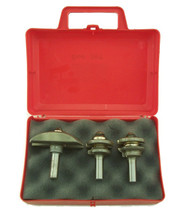 Southeast Tool Door Set includes 3 of the most commonly used router bits for building raised panel doors