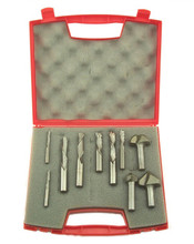 Southeast Tool CNC Set - Router bit set contains 9 of the most common bits used in making cabinets and MDF raised panel doors on a CNC