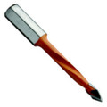 Vortex Carbide Tipped Thru-Hole Drill Bits for Boring Machines - Vortex DTH06457LO