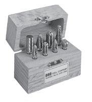 Solid Carbide Single Cut Miniature Bur Set Number 6 SGS BUR-6