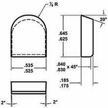 Carbide Stump Grinder Tooth by Carbide Processors