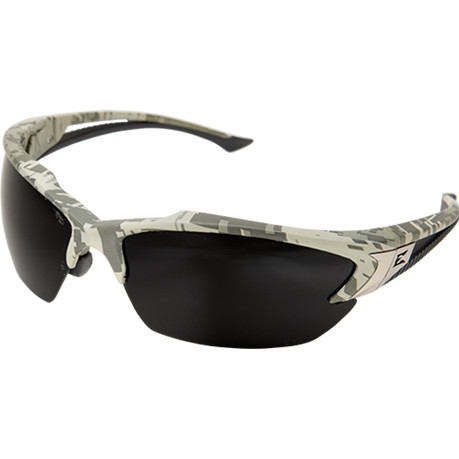 fe126556382 Edge Eyewear Khor Digital Camo Safety Glasses With Smoke Lens. Loading zoom