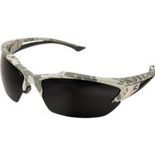 Edge Eyewear Khor Digital Camo Safety Glasses With Smoke Lens