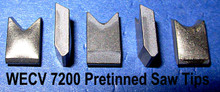 Carbide Processors WEC V Pretinned Carbide Saw Tips