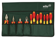 Wiha 32986 11 Piece Insulated Industrial Tool Set