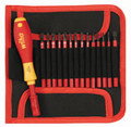 15pc Insulated SlimLine Interchangeable Screwdriver Set, Wiha 28390