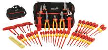 48pc Insulated Pliers/Drivers Set, Wiha 32874