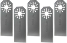 Oshlun MMA-4005 Universal Sealant Cutter with Uni-Fit Arbor for Fein Multimaster, Dremel, and Bosch (5-Pack)