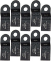 Oshlun MMR-0310 1-1/3-Inch Standard HCS Oscillating Tool Blade for Rockwell SoniCrafter (10-Pack)
