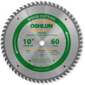 Oshlun SBW-100060T 10-Inch 60 Tooth Multi-Purpose TCG Saw Blade with 5/8-Inch Arbor