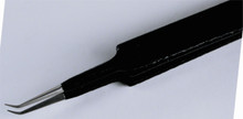 ESD Tweezers, Extra Fine Points Bent 30deg 3mm Lon - Wiha 44528