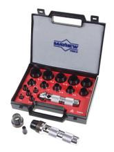 16 Pc Hollow Punch Set, Mayhew 66000