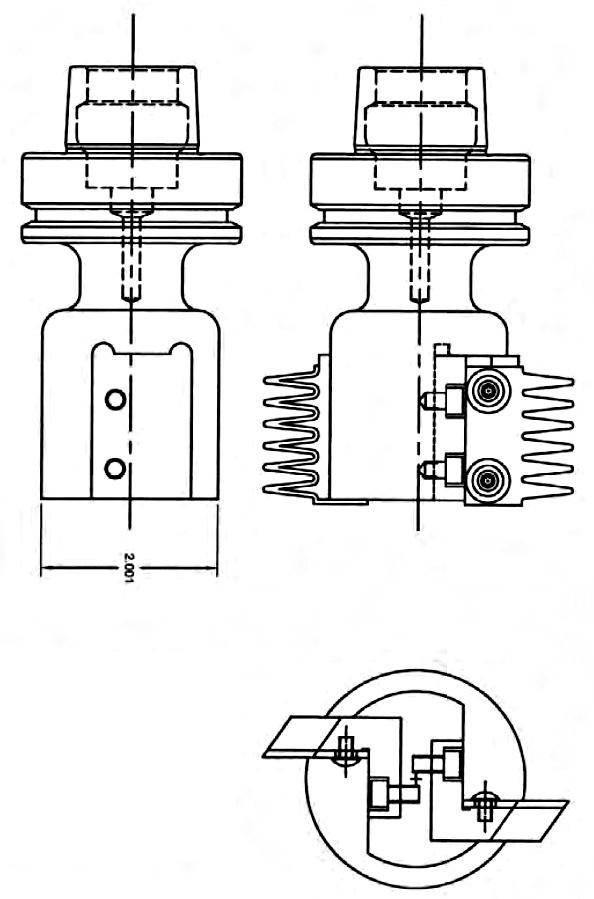 Multi-Profile Insert Bit, 30-40mm Inserts, 3/4