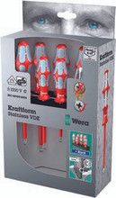Wera Stainless Steel Insulated Slotted Screwdriver - Wera 05022728002
