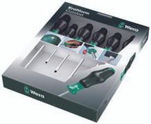 Wera 1334 SK/6 Kraftform Comfort Screwdriver Set