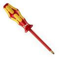 Wera Kraftform 100 Insulated Pozidriv Screwdriver - Wera 05006168004