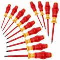 Wera 1160 i/1162 i/13 13Pc Kraftform Comfort Insulated Screwdriver Set (Sl/Ph)