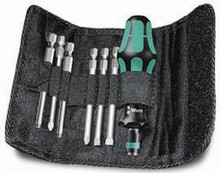 Wera KK 42 7 Pc Kraftform Kompakt Screwdriver Set (Sl/Ph/Sq)